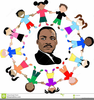 Martin Luther King Day Clipart Image