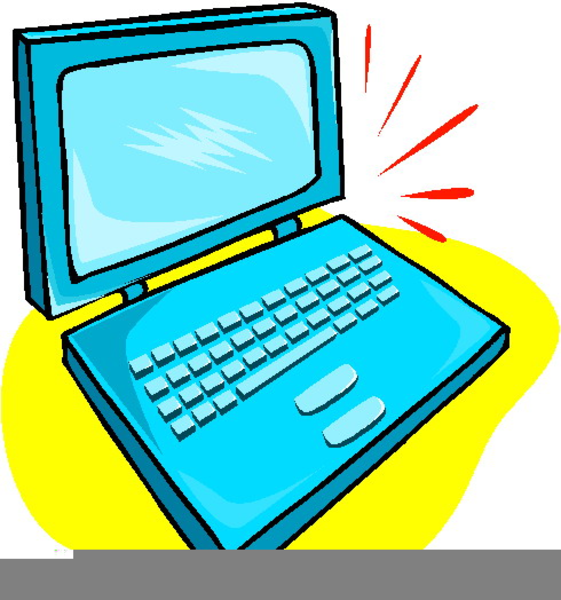 free computer laptop clipart free images at clker com vector rh clker com laptop clipart transparent laptop clipart black and white