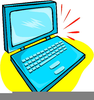 Free Computer Laptop Clipart Image