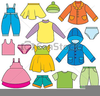 Free Children Clothing Clipart Image