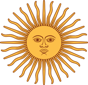 May Sun From Argentina Flag clip art - vector clip art online ...