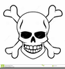 Skull And Crossbone Clipart Image
