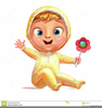 Cartoon Baby Rattle Image