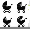 Free Stroller Clipart Image