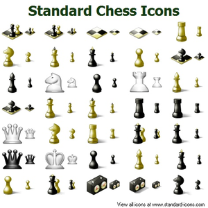 Standard Chess Icons Image