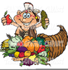 Thanksgiving Horn Of Plenty Clipart Image
