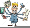 Free Clipart Information Overload Image