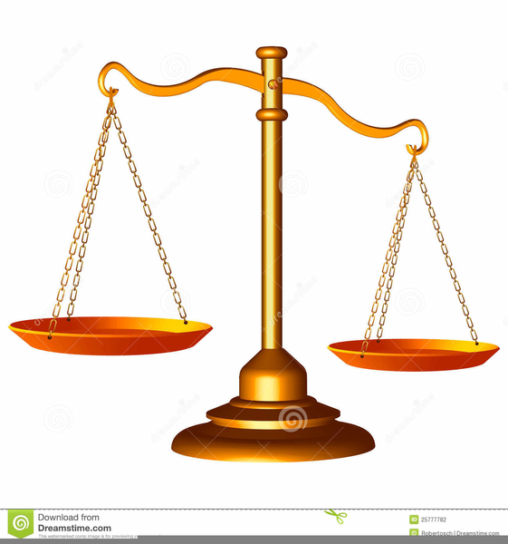 animated scales of justice clipart