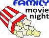 Night At The Movies Clipart Image