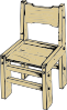 Wooden Chair Clip Art