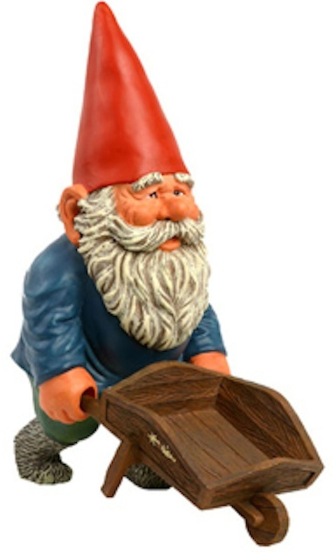 Wonderful Garden Knome Image With Decorating