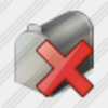 Icon Mail Box Delete Image
