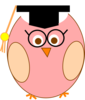 Wise Owl 3 Clip Art