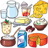 Group Lunch Clipart Image