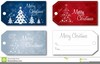 Clipart Christmas Place Cards Image