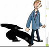 Worried Man Clipart Image
