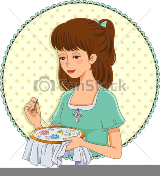 Hand Embroidery Clipart Free Images At Clker Com Vector Clip Art