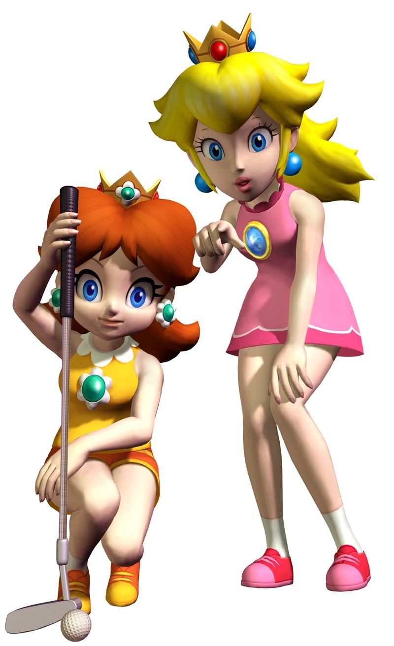 Mario Princess Peach and Daisy