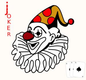 Joker Card Clip Art at Clker.com - vector clip art online, royalty ...