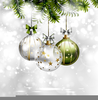 Christmas Border Decorations Clipart Image