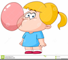 Bubble Blowing Clipart Image
