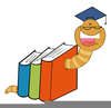 Clipart Bookworms Image