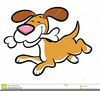 Dog With Bone In Mouth Clipart Image