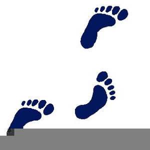 Baby Foot Prints Clipart Image