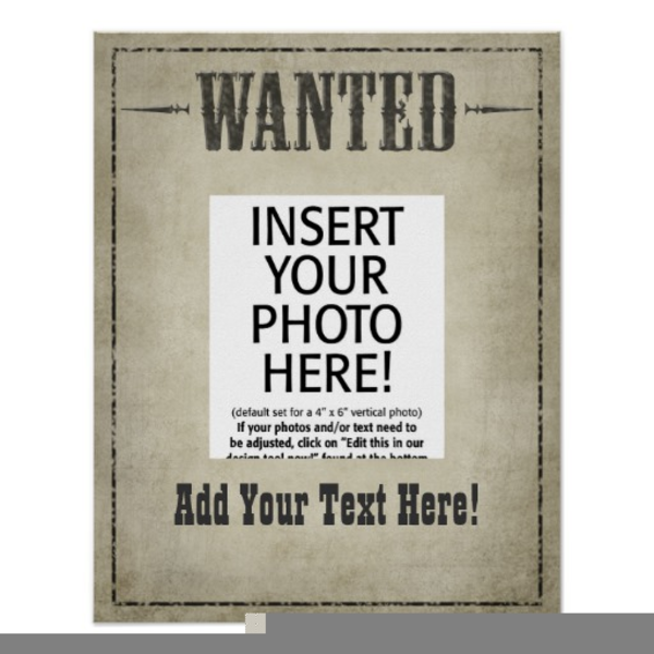 Wanted Frame Clipart | Free Images at Clker.com - vector clip art ...
