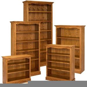 Wooden Bookshelf Walmart Image
