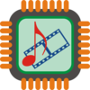 Multimedia Chip Clip Art