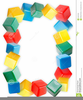 Baby Block Border Clipart Image