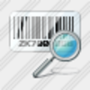 Icon Bar Code Search Image