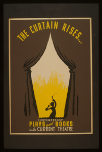 The Curtain Rises ... Contemporary Plays And Books On The Current Theatre. Image