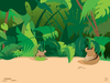 Animated Jungle Clipart Image