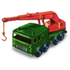 8 Wheel Crane Icon Image