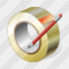 Icon Adhesive Tape Edit Image
