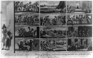 The Political Raree-show: Or A Picture Of Parties And Politics, During And At The Close Of The Last Session Of Parliament, June 1779 Image
