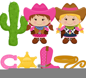 free cowboy and cowgirl clipart free images at clker com vector rh clker com Little Cowgirl Clip Art free cowgirl clipart images