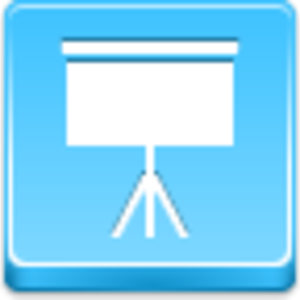 Free Blue Button Icons Easel Image