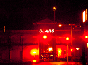 Sears At Night From Distance Richmond Image