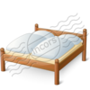 Double Wooden Bed 16 Image