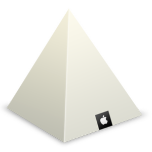 Apple Store Louvre Pyramid Icon Image