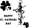Happy St Patrick Clip Art