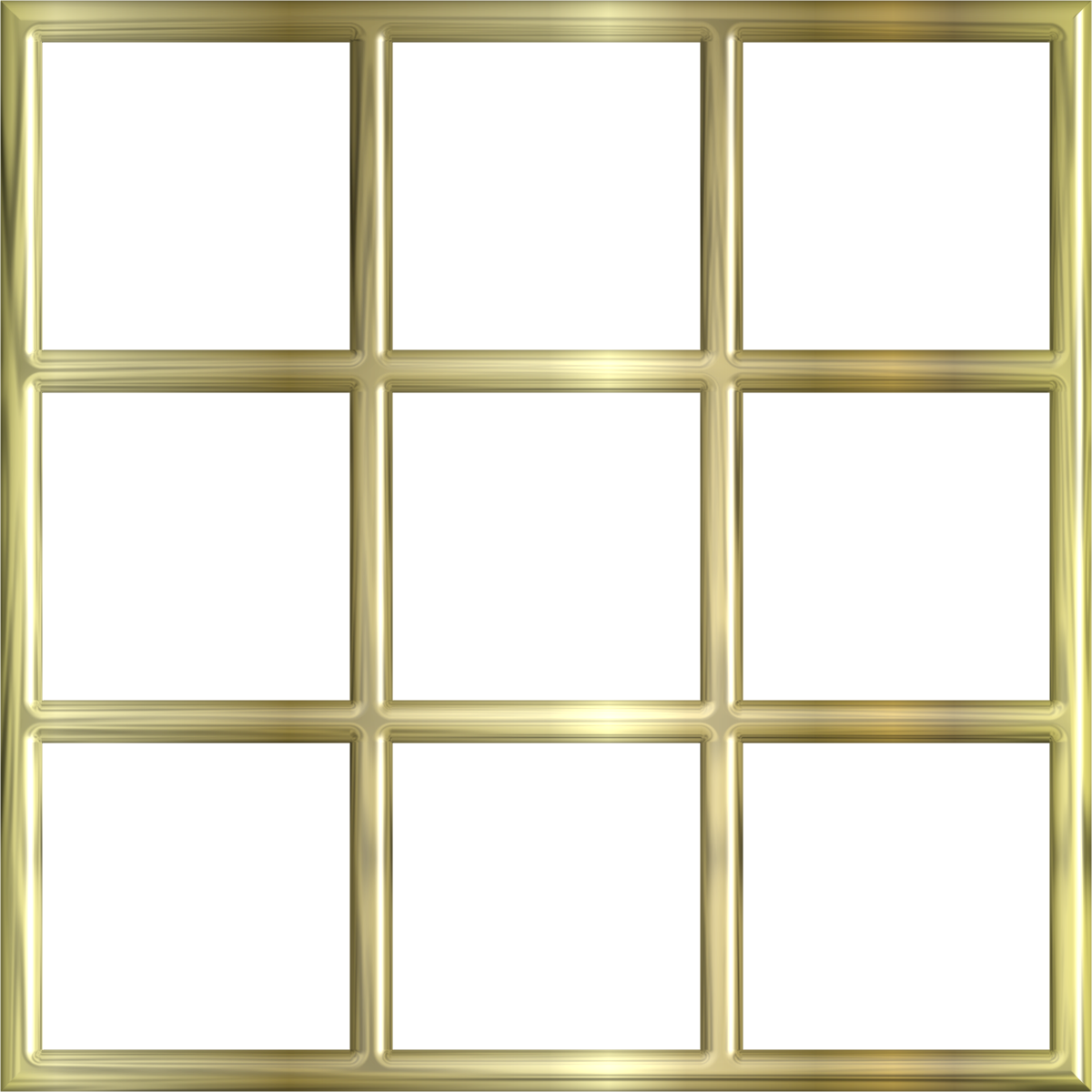 Gold frame border window free images at for Window design clipart