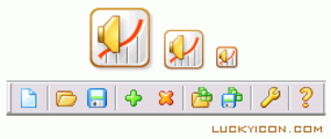 Audio Taper Editor Icons Image