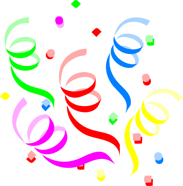 clip art free balloons and streamers - photo #27