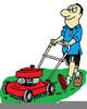 Free Clipart Lawnmower Man Image