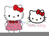 Hello Kitty Characters Clipart Image