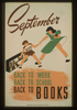 September - Back To Work - Back To School - Back To Books  / V. Donaghue Image